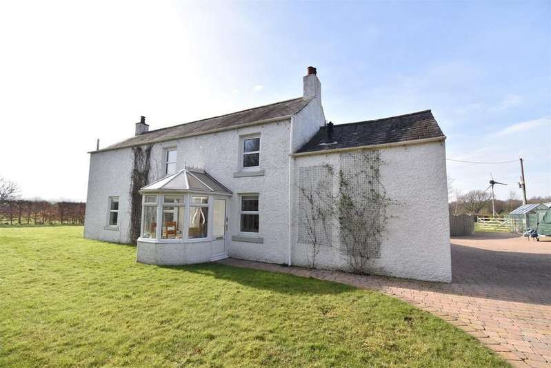 4 Bedrooms Detached House for sale in Aikrigg Cottage, Thurstonfield, Carlisle, Cumbria