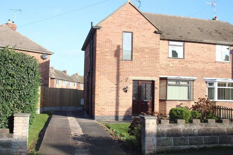 3 Bedrooms Semi Detached House for sale in Charnwood Road, Barwell