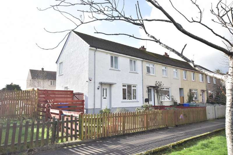 2 Bedrooms End Of Terrace House for sale in 104 James Campbell Road, Ayr, KA8 0SB