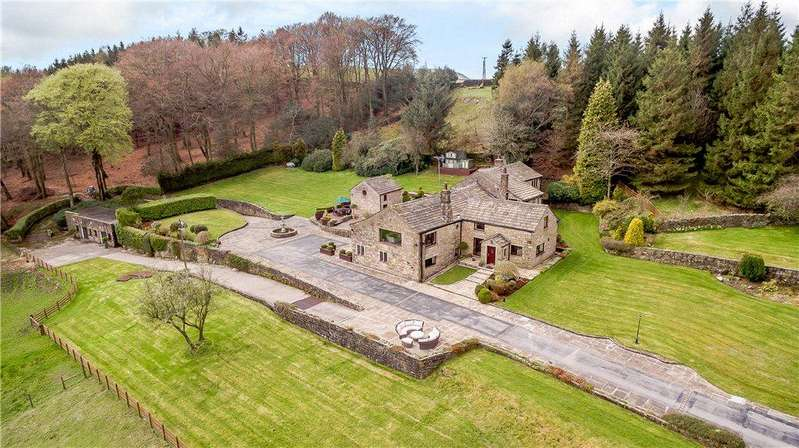 4 Bedrooms Detached House for sale in Bank End Farm, Blacko Bar Road, Roughlee, Lancashire, BB9