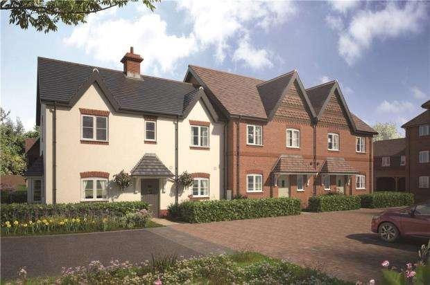 3 Bedrooms End Of Terrace House for sale in Eldridge Park, Bell Foundry Lane, Wokingham