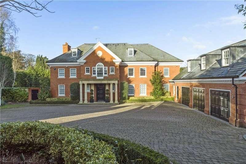 6 Bedrooms Detached House for sale in Queens Drive, Oxshott, Leatherhead, Surrey, KT22