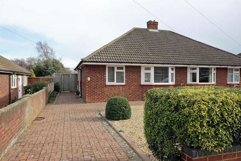 2 Bedrooms Semi Detached Bungalow for sale in Mount Drive, Bedford