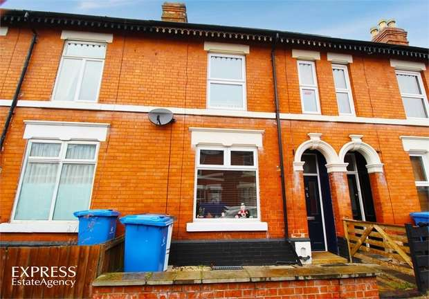 3 Bedrooms Terraced House for sale in Harcourt Street, Derby
