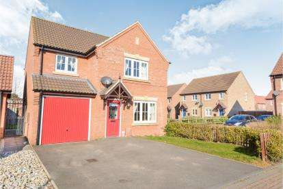 3 Bedrooms Detached House for sale in Kings Manor, Coningsby, Lincoln, Lincolnshire