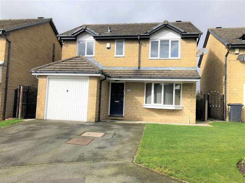 4 Bedrooms Detached House for sale in Puffingate Close, Carrbrook, Stalybridge