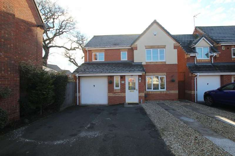 4 Bedrooms Detached House for sale in Daffodil Drive, Bedworth