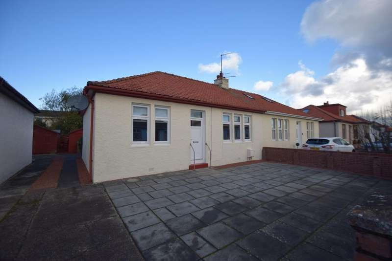 3 Bedrooms Semi Detached Bungalow for sale in Berelands Avenue, Prestwick, South Ayrshire, KA9 1ET