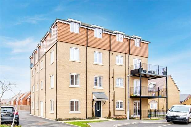 2 Bedrooms Flat for sale in Copia Crescent, Leighton Buzzard, Bedfordshire