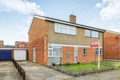 3 Bedrooms Semi Detached House for sale in Alfred Cope Road, Sandy, Bedfordshire