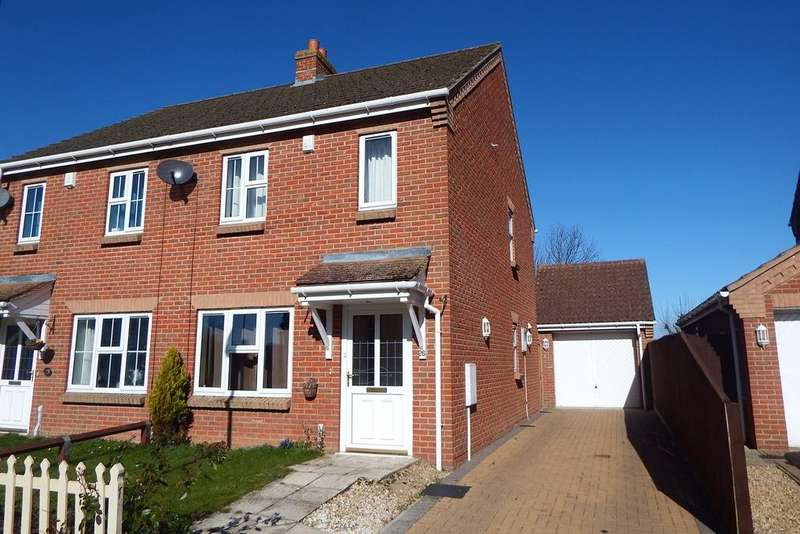 2 Bedrooms Semi Detached House for sale in Strawberry Fields Drive, Holbeach St. Marks, PE12