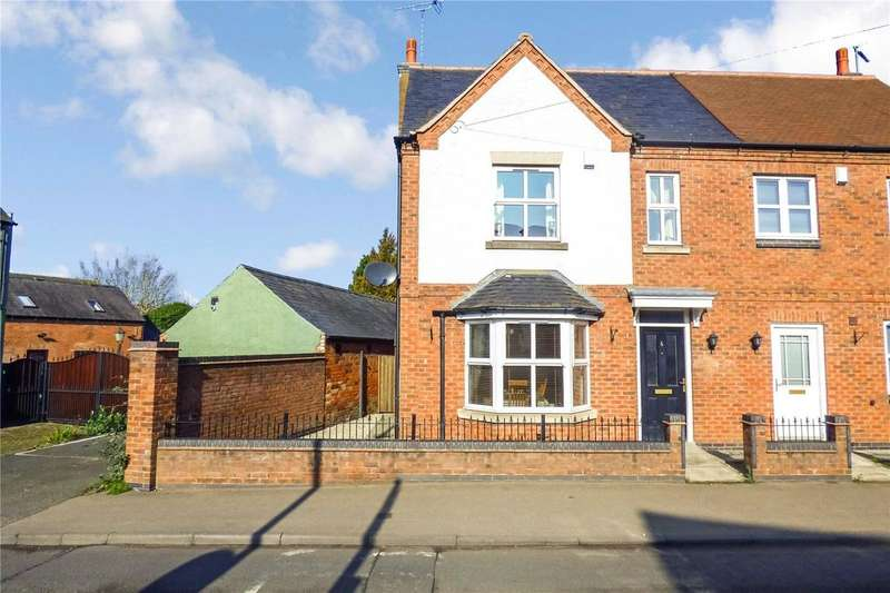 4 Bedrooms Semi Detached House for sale in Leicester Road, Sapcote, Leicester, Leicestershire, LE9