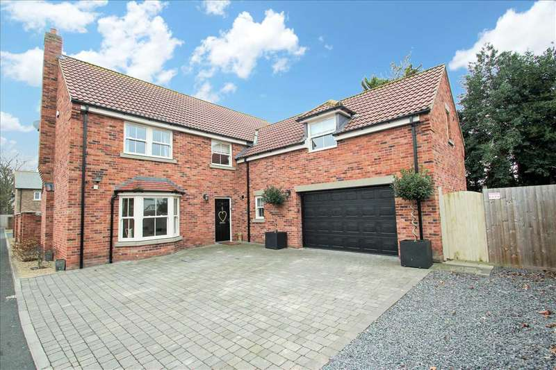 4 Bedrooms Detached House for sale in Foxes Lane, Lincoln