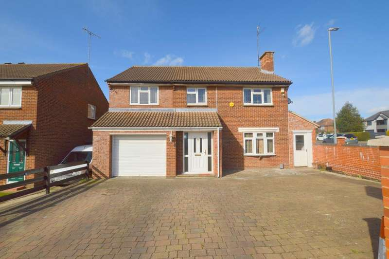 5 Bedrooms Detached House for sale in Enderby Road, Warden Hills, Luton, LU3 2HQ