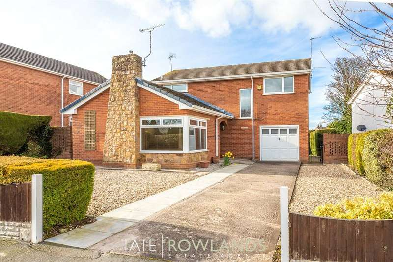 4 Bedrooms Detached House for sale in Flint Mountain, Y Waen, Flint Mountain, Flintshire, CH6