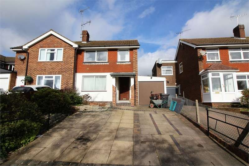 3 Bedrooms Semi Detached House for sale in Fairford Road, Tilehurst, READING, Berkshire