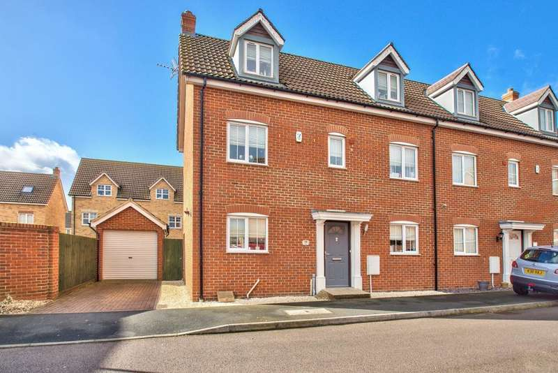 5 Bedrooms Semi Detached House for sale in Maskell Drive, Bedford, MK41 0GN