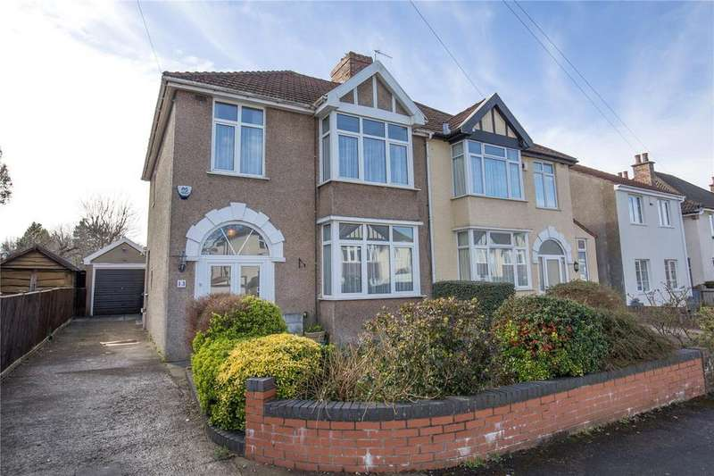 3 Bedrooms Semi Detached House for sale in Lampeter Road, Westbury-On-Trym, Bristol, BS9