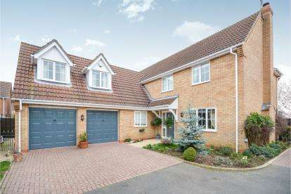 5 Bedrooms Detached House for sale in Ingamells Drive, Saxilby, Lincoln, .