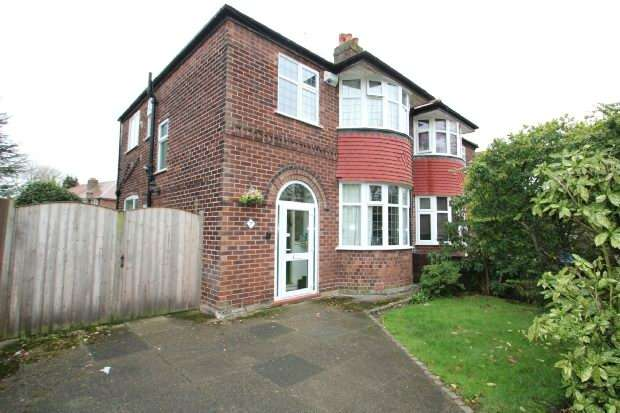 3 Bedrooms Semi Detached House for sale in De Quincey Road, Timperley
