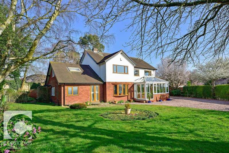 4 Bedrooms Detached House for sale in Neston Road, Burton, Cheshire