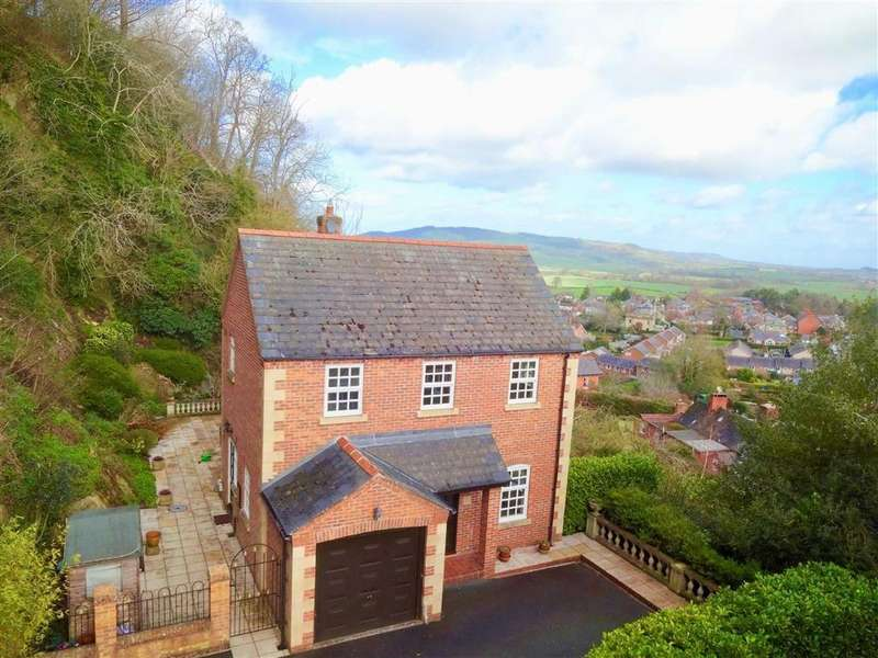 4 Bedrooms Detached House for sale in The Mount, 5, Rhodfa'r Castell, Castle Walk, Montgomery, Powys, SY15