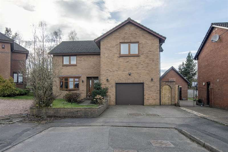 5 Bedrooms Detached House for sale in John Davidson Drive, Dunipace