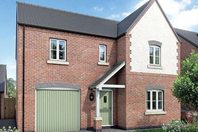 4 Bedrooms Detached House for sale in Holborn Place, Holborn View, Codnor, Ripley, Derbyshire, DE5