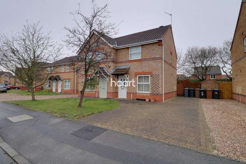2 Bedrooms Semi Detached House for sale in Fox Covert, Lincoln