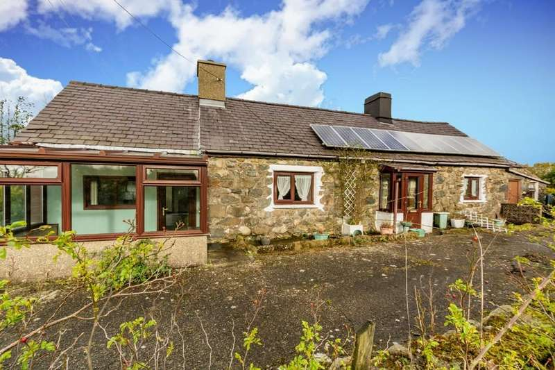3 Bedrooms Cottage House for sale in Bwlch Derwin, Caernarfon, North Wales