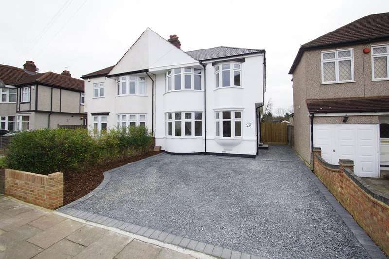 5 Bedrooms Semi Detached House for sale in Canterbury Avenue, SIDCUP, DA15