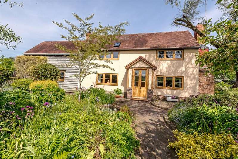 4 Bedrooms Detached House for sale in School Lane, Brimfield, Ludlow, Shropshire