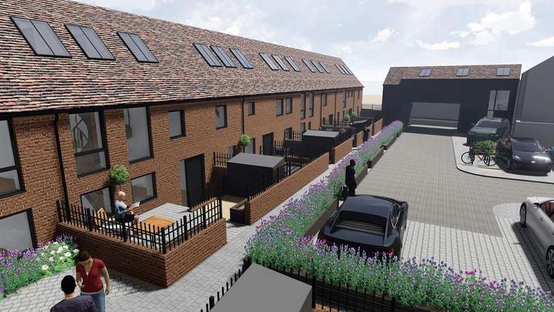 2 Bedrooms House for sale in The Old Maltings, Church Street, Biggleswade, SG18