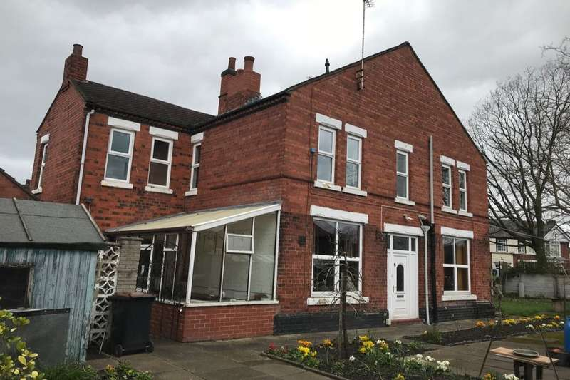3 Bedrooms Semi Detached House for sale in Richmond Road, Crewe, CW1