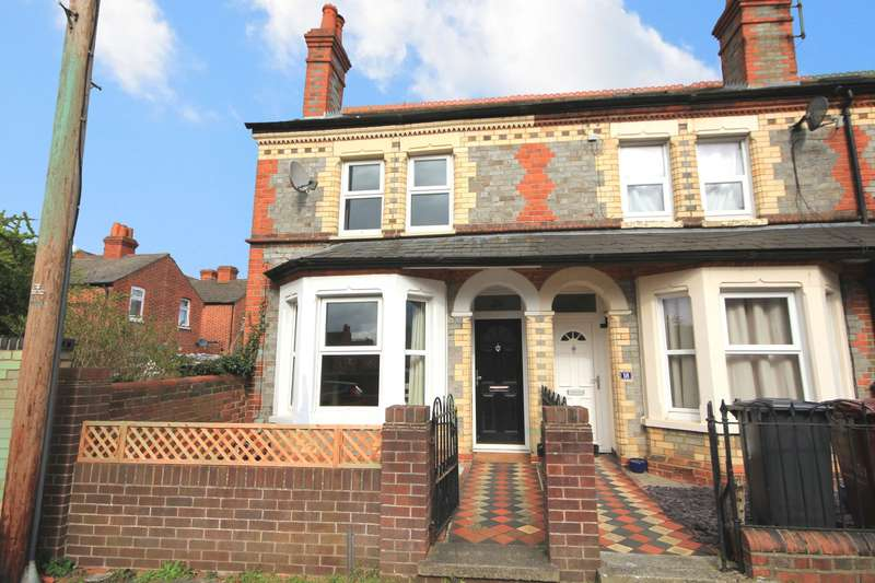 3 Bedrooms End Of Terrace House for sale in Rowley Road, Reading, RG2