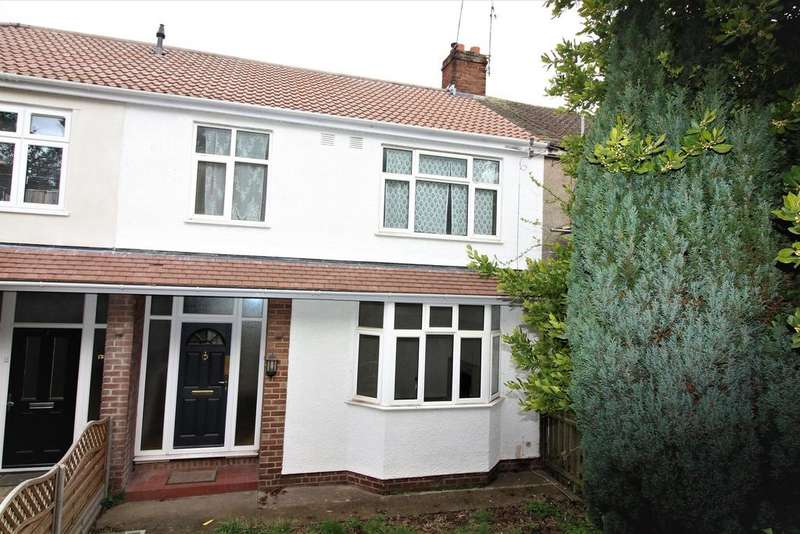 3 Bedrooms Terraced House for sale in Hinton Road, Fishponds, Bristol, BS16 3UN