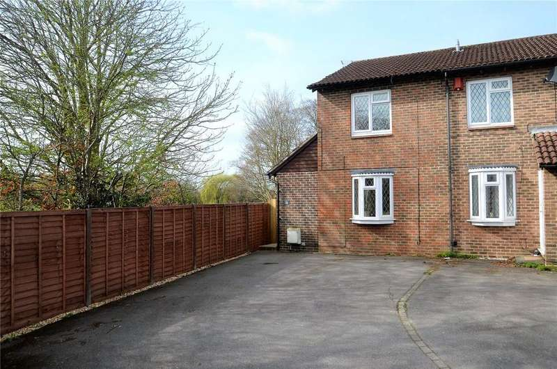 2 Bedrooms End Of Terrace House for sale in Torcross Grove, Calcot, Reading, Berkshire, RG31