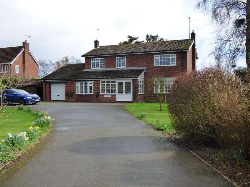 4 Bedrooms Detached House for sale in Broadgate, Weston Hills