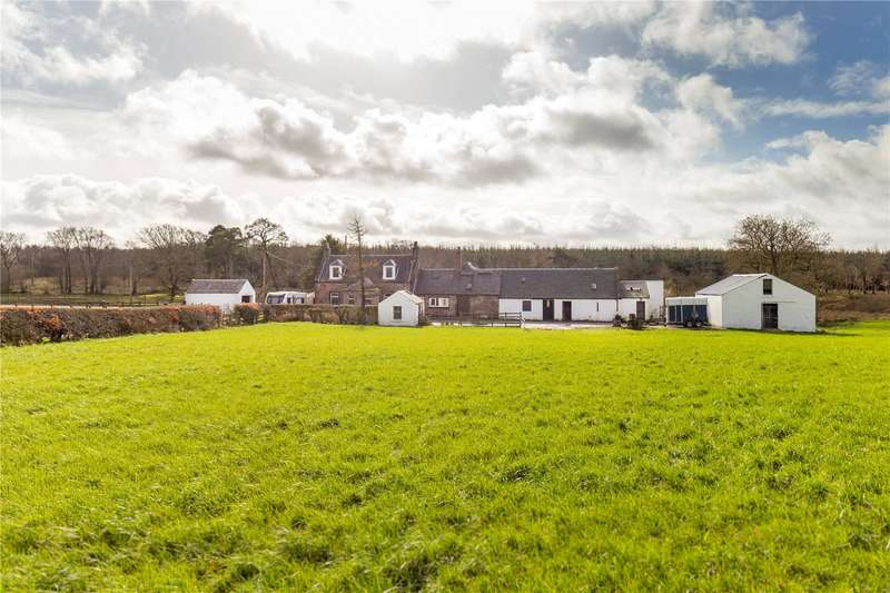 3 Bedrooms Farm Commercial for sale in Hillend Of Heateth, By Auchinleck, Cumnock, East Ayrshire, KA18