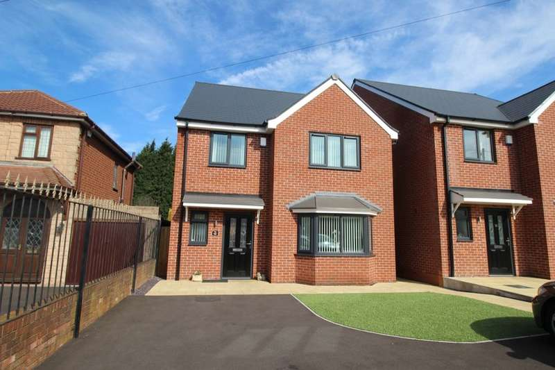 4 Bedrooms Detached House for sale in Sedgley Road, Tipton, DY4