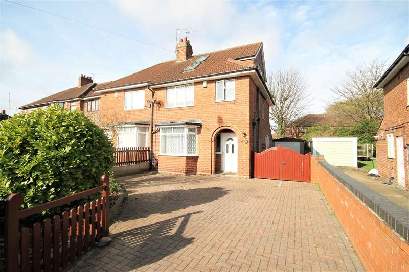 4 Bedrooms Semi Detached House for sale in Millfield Avenue, York, North Yorkshire, YO10 3AA