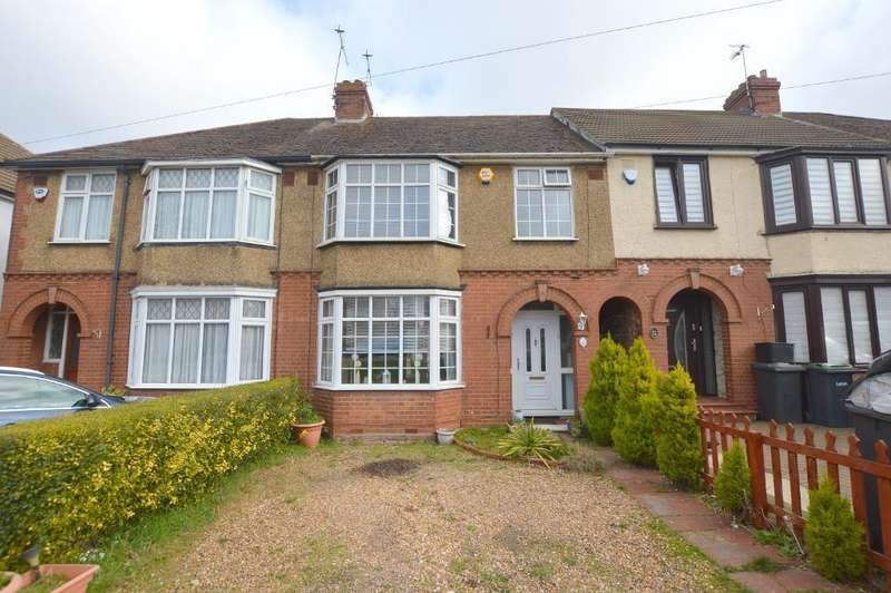 3 Bedrooms Terraced House for sale in Poynters Road, Luton, Bedfordshire, LU4 0LA