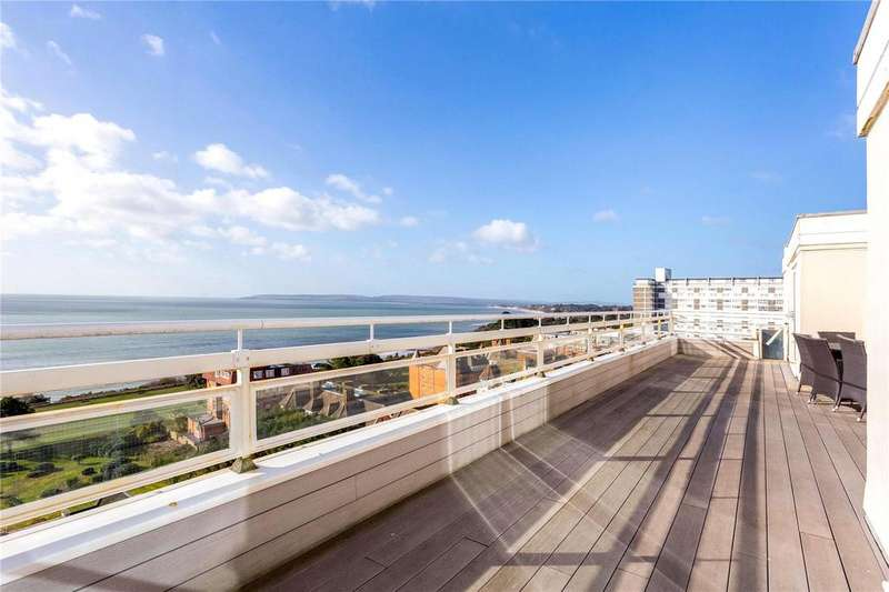 3 Bedrooms Penthouse Flat for sale in West Cliff Road, West Cliff, Bournemouth, BH2
