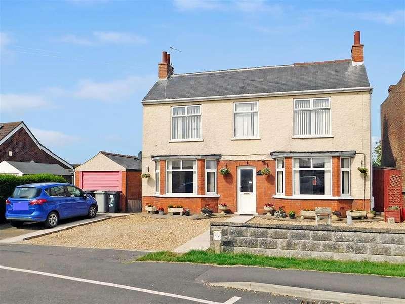 4 Bedrooms Detached House for sale in Skegness Road, Ingoldmells, Skegness, Lincolnshire, PE25 1NL