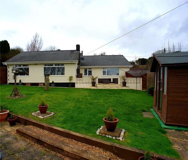 3 Bedrooms Detached Bungalow for sale in Trethurgy, St Austell, Cornwall, PL26
