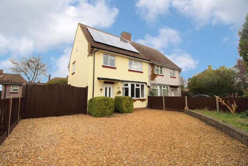 3 Bedrooms Semi Detached House for sale in Wyatt Road, Kempston, MK42