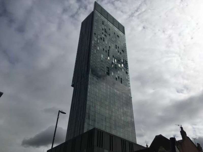 1 Bedroom Apartment Flat for sale in Beetham Tower Manchester M3 4LU
