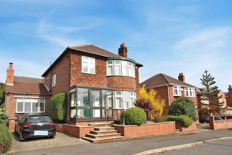 3 Bedrooms Detached House for sale in Bentley Avenue, Bakersfield, Nottingham
