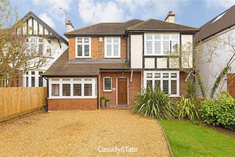 4 Bedrooms Detached House for sale in Charmouth Road, St Albans, Hertfordshire