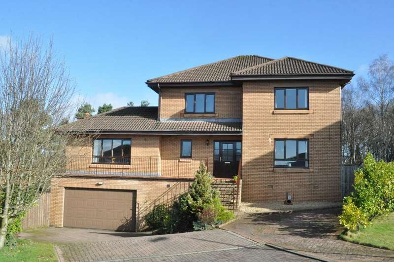 4 Bedrooms Detached House for sale in Henderland Drive, Bearsden, East Dunbartonshire, G61 1JJ